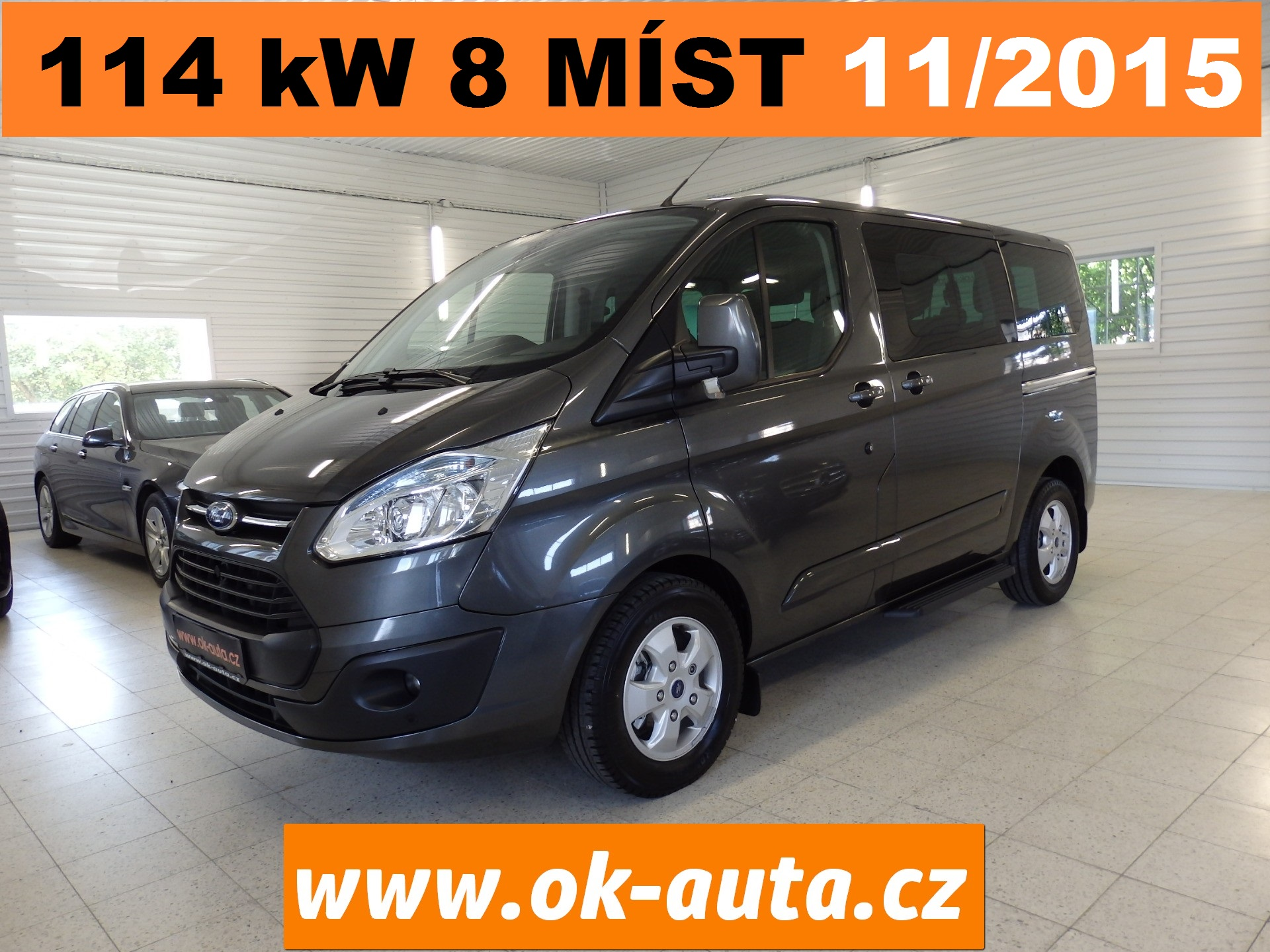 Ford Tourneo Custom 2.2 TDCI 114 kW  11/2015