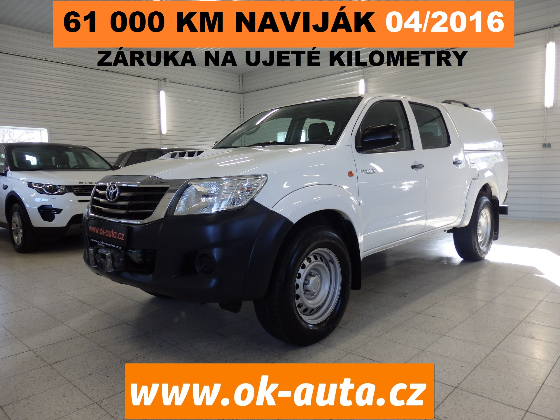 Toyota Hilux 2.5 Double Cab Hartop 04/2016